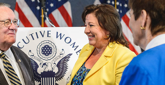 Executive Women in Government's President Hinojosa Elected as Director of the World Customs Organization (WCO) Compliance and Facilitation Directorate